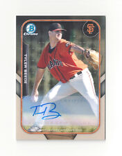TYLER BEEDE 2015 Bowman Chrome SUPERFRACTOR mini Auto RC 1/1 Giants Vanderbilt