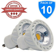 10X High Quality GU10 5W LED COB Spotlight 6400K Cool White Daylight Bulb 240V