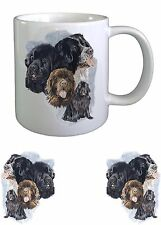 Newfoundland Dog Sketch Ceramic Mug by paws2print