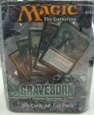 Magic the Gathering MTG Graveborn Premium Foil Deck - 60 Cards - Sealed