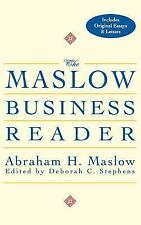 The Maslow Business Reader by Abraham H. Maslow (2000, Hardcover)