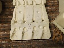 Ceramic Mold Scioto S 2328 Cherub Icicle Christmas Ornaments  Harps and stars