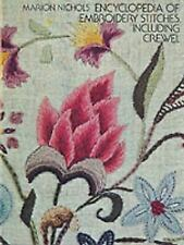Encyclopedia of Embroidery Stitches, Including Crewel Dover Embroidery, Needlep