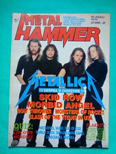 ►Polish magazine Metal Hammer 91 Metallica Morbid Angel Queensryche Bolt Thrower