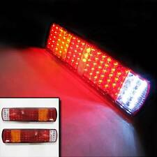 Led Rear Tail Lights Truck Lorry Trailer Tipper Chassis 12v 24v Set