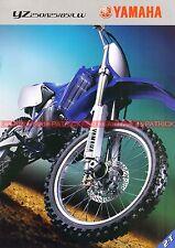 YAMAHA YZ 85 125 250 ; YZ 85 LW - 2003 : Brochure - Dépliant - Moto       #0684#