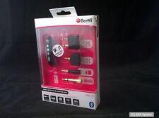 BeeWi Bluetooth BBR110 Pack für Kopfhörer und Boxen mit 4 Steckeradapter, NEU