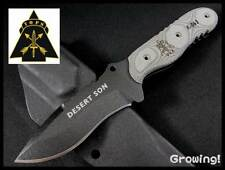 TPDSON01 Tops Knives Desert Son 1095 Carbone Blade Micarta Handle Kydex USA
