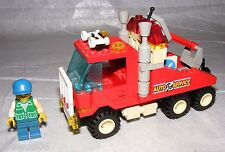 1993 LEGO City Town Rescue Rig Tow Truck 6670 COMPLETE with Instructions
