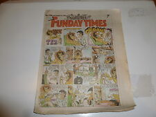 THE FUNDAY TIMES - No 106 - Date 15/09/1991 - Free Sunday Time Comic Supplement
