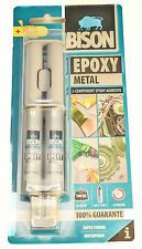 BISON METAL BONDING EPOXY ADHESIVE GLUE FAST CURE KIT