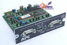 APC SMART USV AP9607 INTERFACE EXPANDER MANAGEMENT CARD FÜR VIELE UPS 2200 VA OK