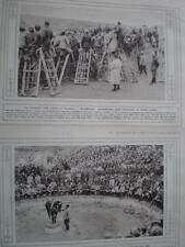 Photographs Circus for soldiers Salonica Greece 1916