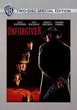 UNFORGIVEN/Clint Eastwood, Gene Hackman/NEW 2 DISC DVD/BUY ANY 4 ITEMS SHIP FREE