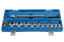 TORQUE WRENCH 40NM   200NM WITH SELECTION OF CROWFOOT WRENCH SPANNERS 13   32mm