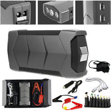 12V Portable Car Minimax Jump Booster Rechargable Emergency Power For Laptops