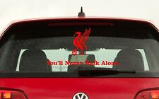 LFC YNWA  Liverbird Car Window Vinyl Decals Badges Stickers