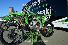 Kawasaki Full Plastics and Eli Tomac Graphics KXF KX 125 250 450 1995-present