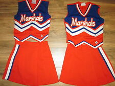 Adult Twin 2 Matching Cheerleader Uniforms Outfit Costume Uniform MARSHALS 34/26