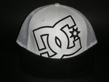 DC Shoes DAXX TRUCKER Snapback Hat White OSFA ($23) NEW Cap Skate BMX Moto MX