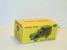n83, boite camion humbert 1 ton militaire 641 DINKY