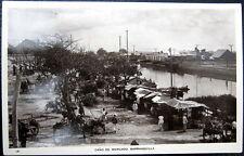 COLOMBIA ~ 1930's BARRANQUILLA ~ Cano de Mercado ~ Open Market ~ RPPC