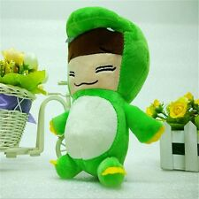 "Kpop EXO-M Group Kim Jong Dae CHEN Dinosaur Doll 8"" Plush Toy Kids Xmas gifts"