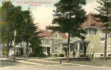 A View of Large Handsome Houses in the North Side Residence District, Geneseo IL
