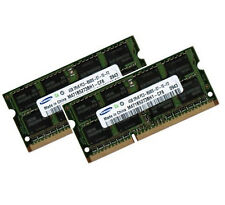 2 x 4 GB 8 GB di memoria RAM DDR3 1066 / 1067 MHz per Apple PC3-8500S Samsung 0x80ce