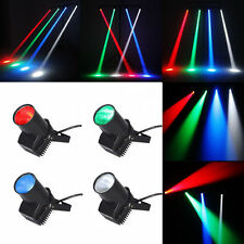8PCS RGBW LED Stage Lighting 15W Spin Pinspot Light Beam Party DJ Disco DMX 6CH
