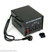 Heavy Duty ST200 200 Watt 110 220 Volt Voltage Converter 110v 220v 240v