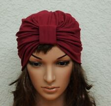 Full Turban Hat, Stylish Hat, Head Covering, Viscose Jersey Turban Hat, Fashion