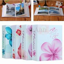 4'' x 6'' Flower Photo Album Holds 100 Pocket Slip In Family Wedding Memory Gift