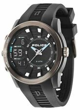 Police TACTICAL Men's Silicone Strap Analog Digital Quartz Watch - 14249JPBU/02
