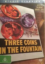 Three Coins In The Fountain Clifton Webb Dorothy McGuire Region 4 PAL DVD VGC