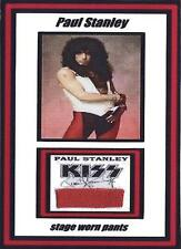 Kiss Paul Stanley STAGE WORN AND USED Crazy Nights Red Clothing Display w/Stand