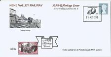 GB 2012 Nene Valley Railway NVR Stations Cover No 4 Castle Ashby