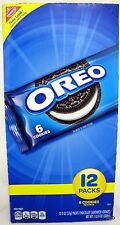 Oreo Cookies Nabisco 12 Packs Free Ship Original Cookie Bulk Black White Oreos