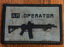 AR Operator Morale Patch Tactical Molle Milspec AR15 M16 M4 Carbine 556 223