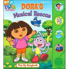 NICK JR DORA THE EXPLORER DORA'S BACKPACK BOOK & DVD