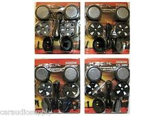 4 Pairs of New 500 Watt Car Stereo Component Dome Tweeters Truck Audio Speakers