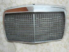 MERCEDES W115 RADIATOR GRILLE SET - CHROME FRAME + INNER GRILLE & 7 Mouldings