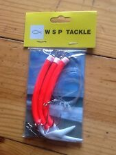 ready tied sea fishing rig mustad 8/0 hooks x3 gummymac sandeels