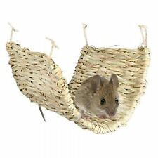Trixie Natural Grass Hammock Small Animal Beds Perfect For Rats Degus Hamsters