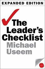 The Leader's Checklist, Expanded Edition : 15 Mission-Critical Principles New