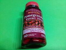 Extracto de granada 250 mg 60 capsulas PURITAN´S PRIDE Antioxidante Antiedad