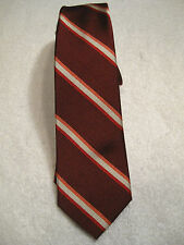 NWT Valentino Classic Tie 100% Silk Diagonal Stripes MSRP $135