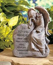 in Loving Memory Garden Angel Memorial Statue Grave Marker