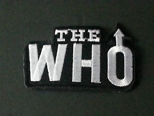 PUNK ROCK METAL MUSIC SEW/IRON ON PATCH:- THE WHO