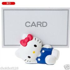 Hello Kitty Small Blue Business Name Card Holder KK531